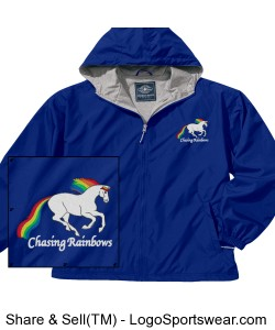 Chasing Rainbows Adult Jacket Design Zoom